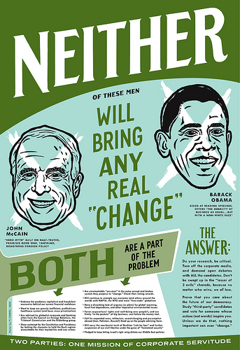Neither will bring any real change